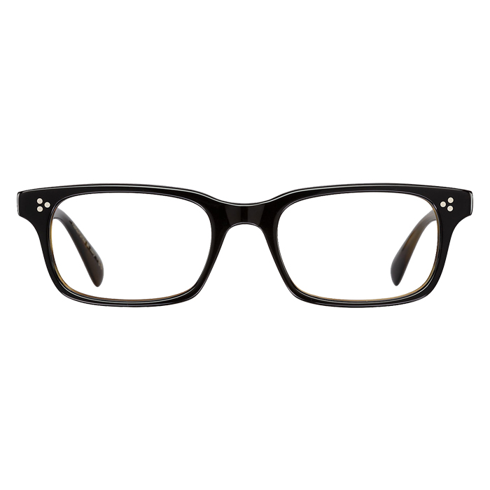Oliver Peoples CAVALON Black/olive Tortoise - Clear Lens Eyeglasses Specs Appeal Optical Miami Sunglasses