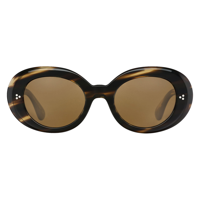 Oliver Peoples ERISSA Cocobolo - Brown Polar Specs Appeal Optical Miami Sunglasses