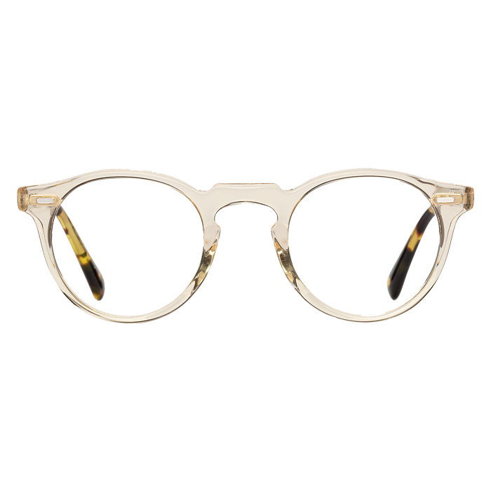 Oliver Peoples GREGORY PECK Buff/dtb - Clear Lens Eyeglasses Specs Appeal Optical Miami