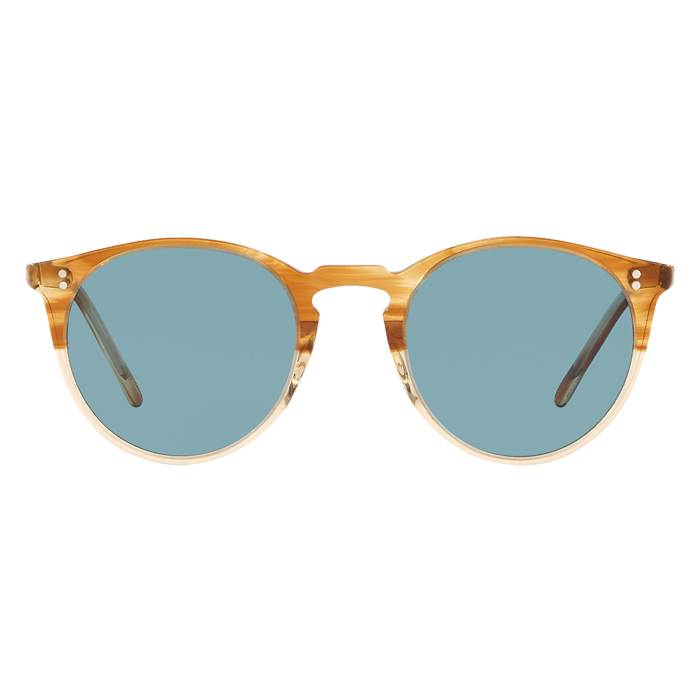 Oliver Peoples O'MALLEY Honey Vsb - Teal Polar Specs Appeal Optical Miami Sunglasses