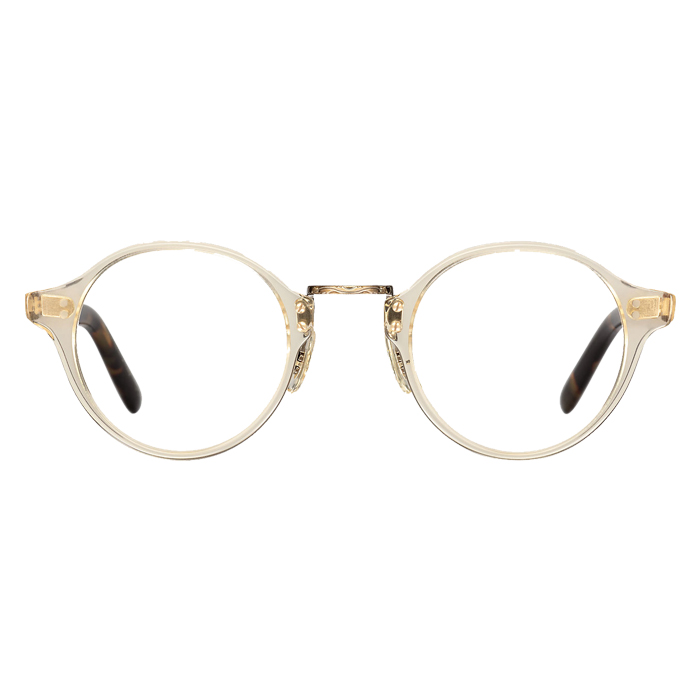 Oliver Peoples OP-1955 Buff/antique Gold - Clear Lens Eyeglasses Specs Appeal Optical Miami