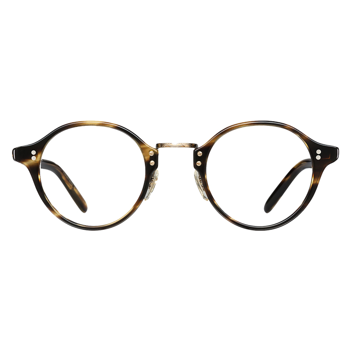 Oliver Peoples OP-1955 Cocobolo/antique Gold - Clear Lens Eyeglasses Specs Appeal Optical Miami