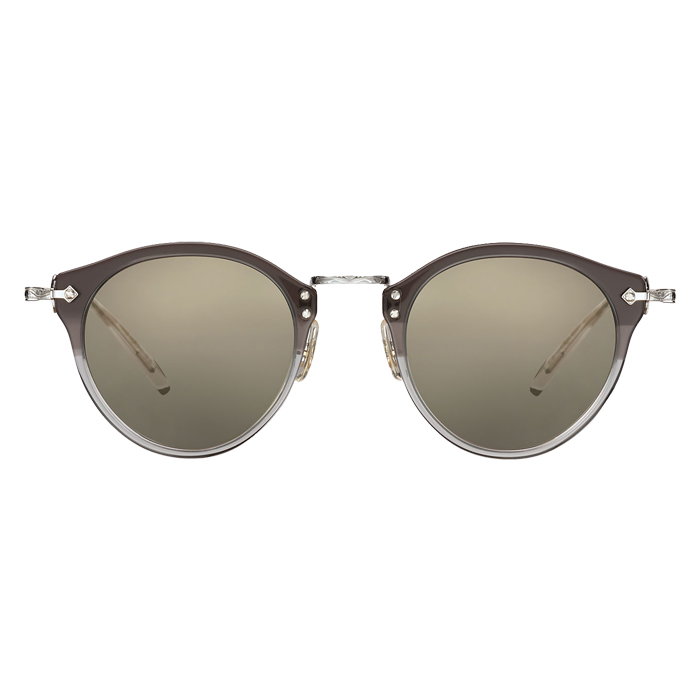 Oliver Peoples OP-505 Vintage Grey Fade/silver - Grey Goldtone Specs Appeal Optical Miami Sunglasses