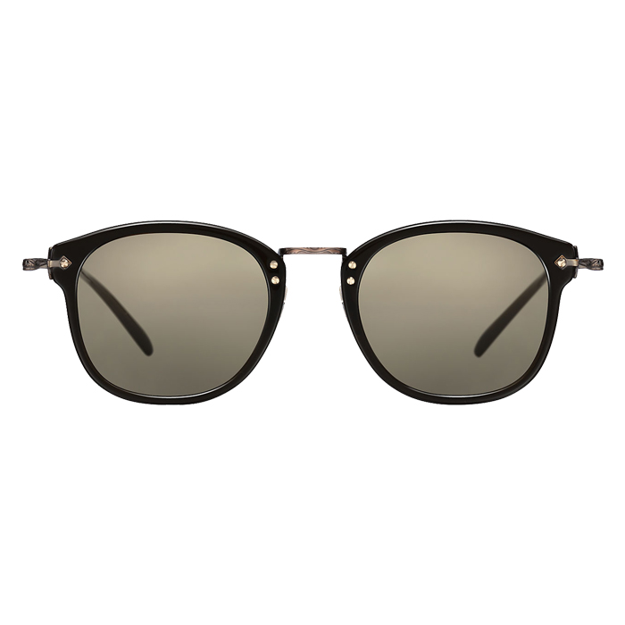 Oliver Peoples OP-506 Dark Military/antique Gold - Grey Goldtone Specs Appeal Optical Miami