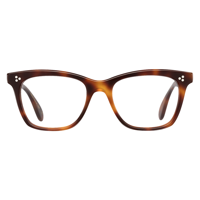 Oliver Peoples PENNEY Dark Mahogany - Clear Lens Eyeglasses Specs Appeal Optical Miami