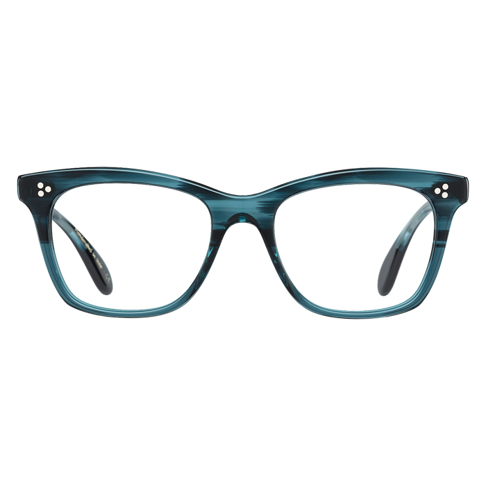 Oliver Peoples PENNEY Teal - Clear Lens Eyeglasses Specs Appeal Optical Miami
