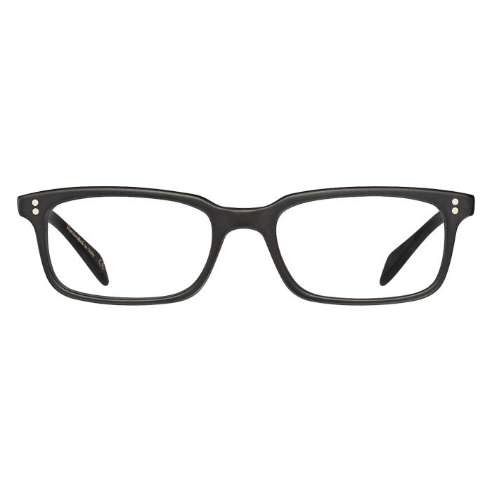 Oliver Peoples Denison Matte Black - Demo Lens Specs Appeal Optical Miami Sunglasses