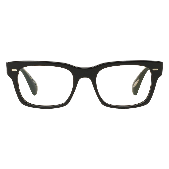 Oliver Peoples RYCE Black - Clear Lens Eyeglasses Specs Appeal Optical Miami