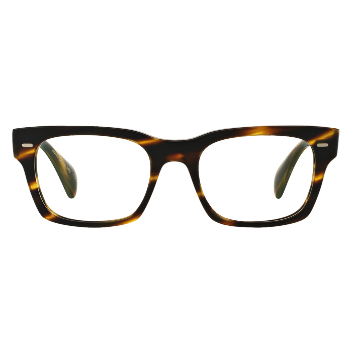 Oliver Peoples RYCE Semi-matte Cocobolo - Clear Lens Eyeglasses Specs Appeal Optical Miami