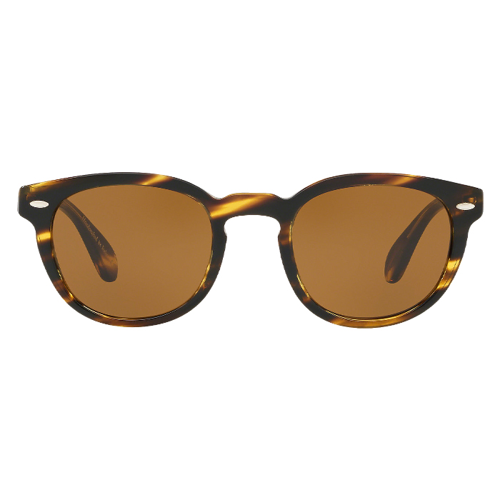 Oliver Peoples SHELDRAKE Cocobolo - Brown Specs Appeal Optical Miami Sunglasses