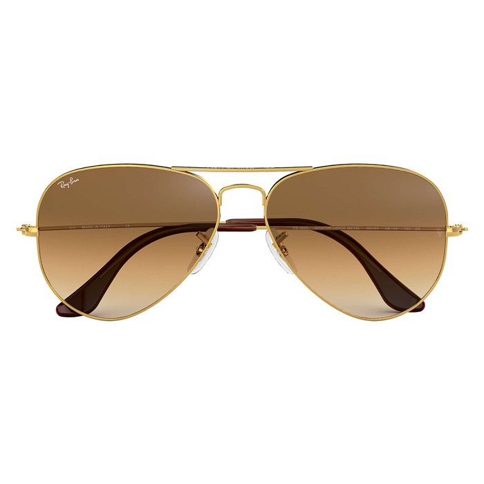 Rayban AVIATOR GRADIENT Gold - Light Brown Gradient Sunglasses Specs Appeal Optical Miami Sunglasses