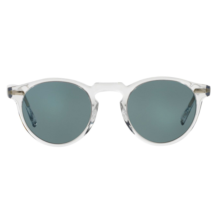 Oliver Peoples Gregory Peck Crystal Photochromatic Indigo Specs Appeal Optical Miami Sunglasses
