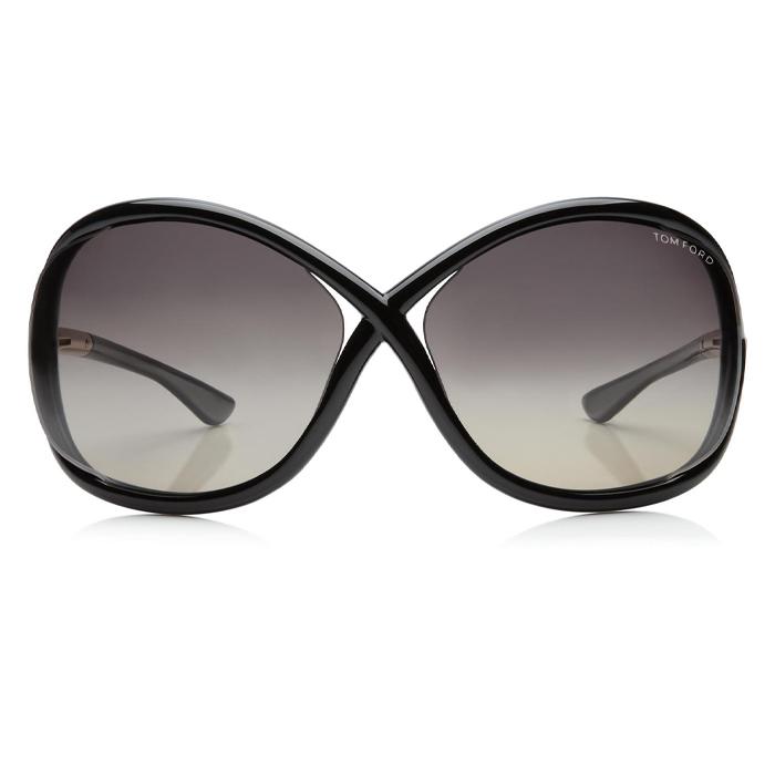 Tom Ford WHITNEY Shiny Black / Grey Polarized Sunglasses Specs Appeal Optical Miami Sunglasses